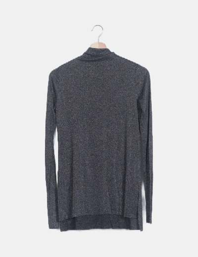 Camiseta negra glitter