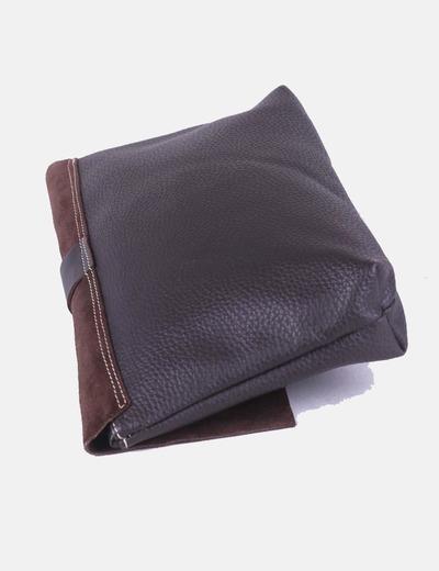 d09d555e9 ELISA CORTES Bolso de mano marrón chocolate combinado (descuento 36%) -  Micolet