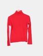 Jersey rojo cuello vuelto Yera