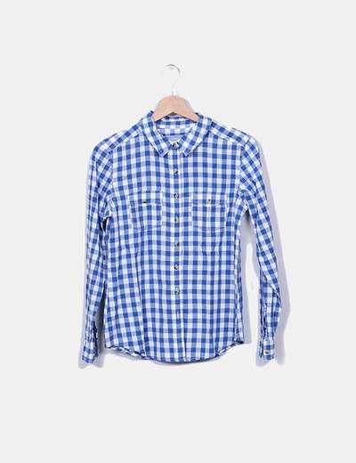 Camisa cuadros azules