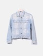 Veste ripped denim Mango