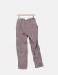 Pantalón ancho color topo IKKS