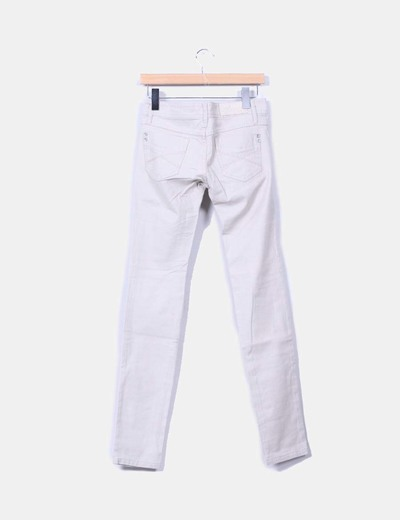 Jeans denim beige