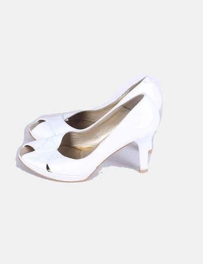 Zapato Zapato Marypaz peep toe toe Zapato Marypaz blanco blanco peep xqPBwawX