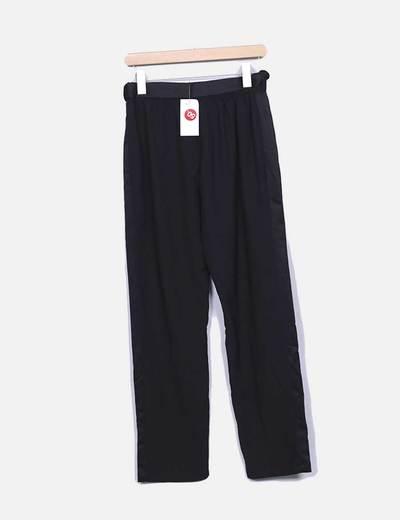 Pantalon negro fluido