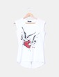 T-shirt imprimé coeur Pandora