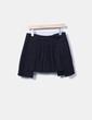 Minifalda negra plisada Hugo Boss