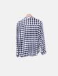 Camisa cuadros bicolor Zara