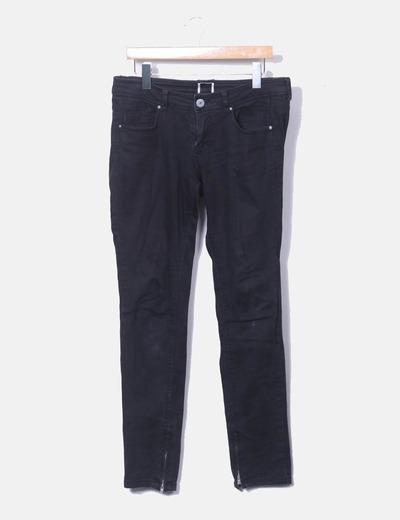 Pantalon noir denim Bershka