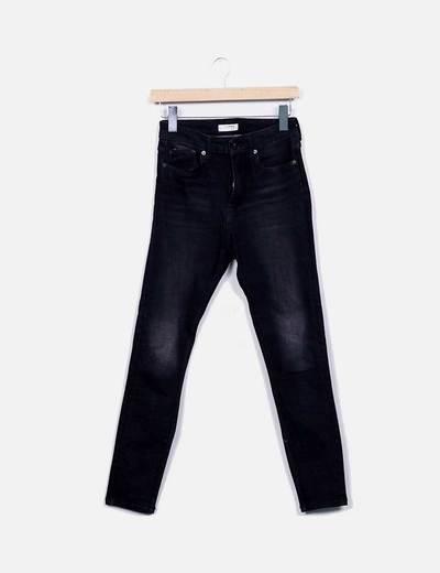 Jeans skinny preto denim Zara