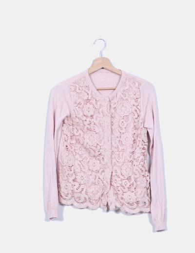 Twin-Set Cardigan Basic Pink texturiert (Rabatt 68 %) - Micolet 65c9de84af