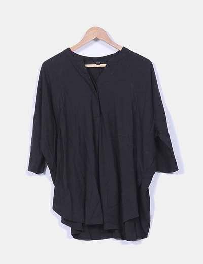 Blusón negro oversize COS
