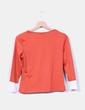 Camiseta color caldera combinada Venca