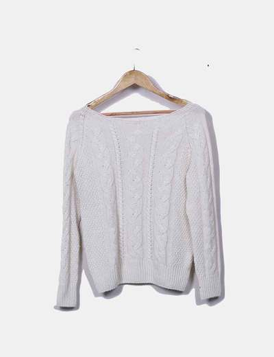 Jersey tricot con ochos