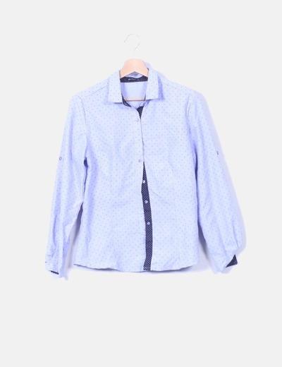 Camisa azul print stars & moon Boteli