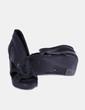 Sandales noires compensées Hakei