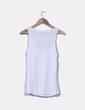Top blanco combinado Zara