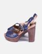 Chaussures bleues à talons NoName