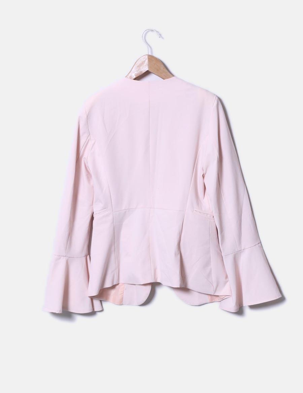 5f65e9bbd27 ... de Abrigos Mujer Blazer Chaquetas baratos acampanada y manga rosa online  Sophie fwqxYUH0q