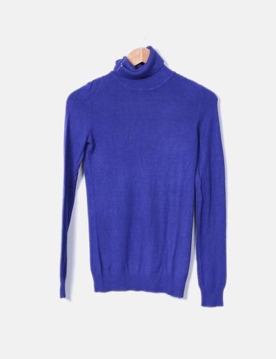 Jersey tricot azul klein Nafnaf