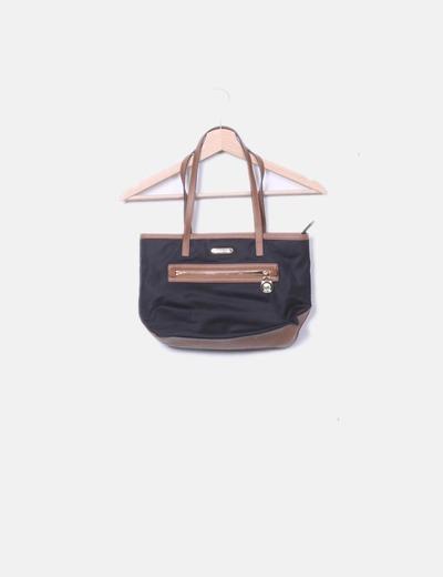 Black midi shopper bag Michael Kors