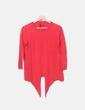 Jersey tricot rojo Massimo Dutti