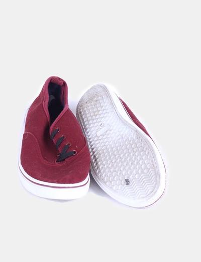 Zapatillas burdeos