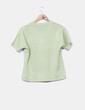 Jersey punto verde manga corta NoName