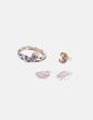 Conjunto de pendientes anillo y pulsera gold NoName