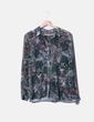 Camisa verde print floral NoName
