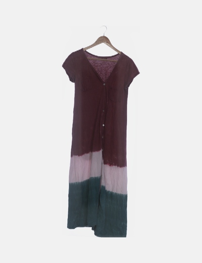 Vestido / túnica tie dye rosa