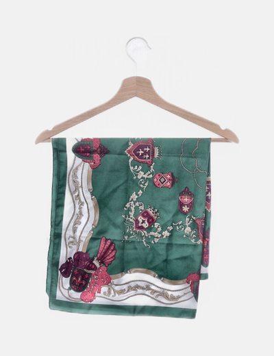 Pañuelo verde print