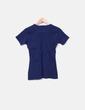 Camiseta de punto azul Naf Naf