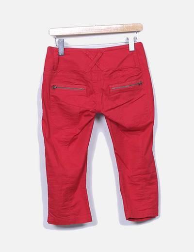 Jeans rojos pirata