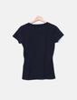 Camiseta manga corta negra Desigual