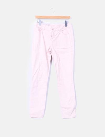 Pantalon couleur nude Vero Moda