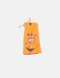 Camiseta naranja con estampado Desigual