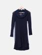 Vestido combinado azul marino sita murt/