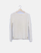 Jersey beige tricot Pull&Bear