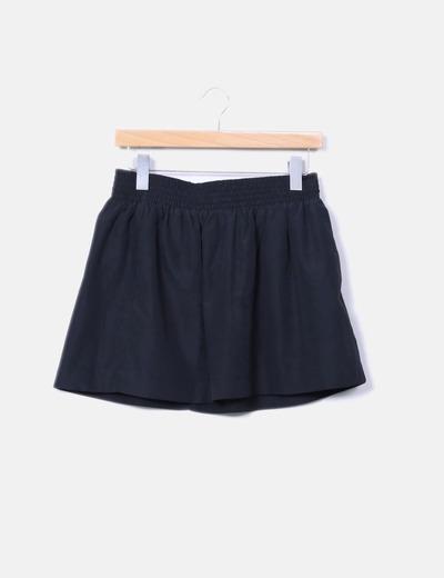 Black skirt with ruffles Pimkie