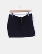 Mini falda negra tachas XDYE
