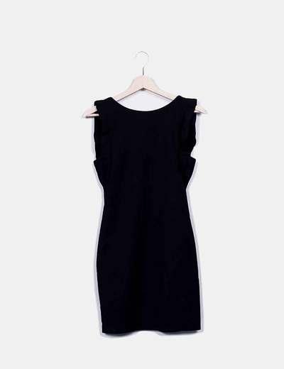 Robe noire mini Zara