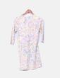 Vestido estampado floral vintage Daphnea