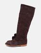 Bota de ante marrón Zara