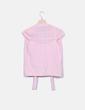 Chaleco tricot rosa combinado NoName