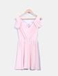 Vestido rosa escote V Asos