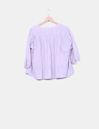 Blusa lila