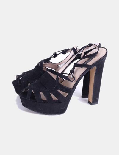 73micolet De Pnwk8ox0 Zara Tacóndescuento Sandalias Negras vmNw8n0