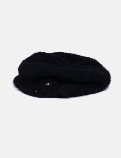 NoName Gorro negro de lana con visera (descuento 95%) - Micolet f58f9defeea