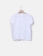Camiseta blanca print Stradivarius